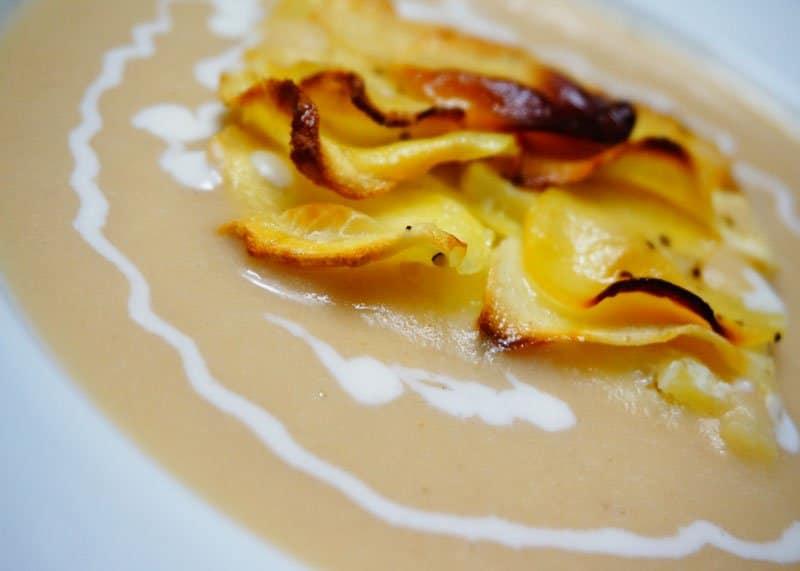 Рецепт супа из запеченных яблок фото