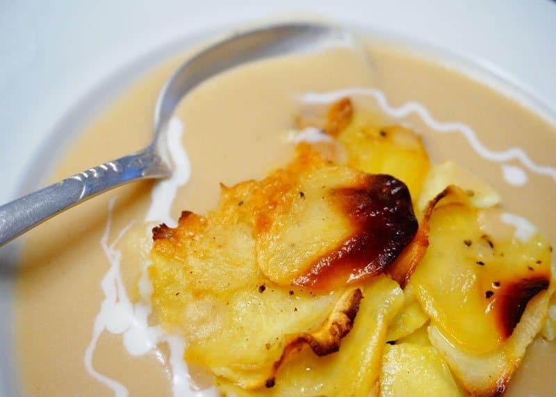 Рецепт приготовления супа пюре из яблок фото