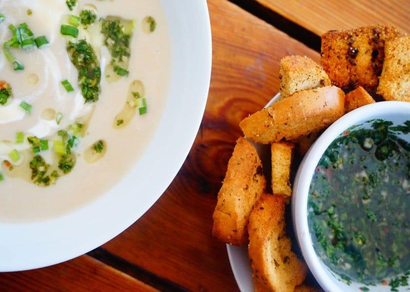 Суп пюре из кольраби рецепт фото