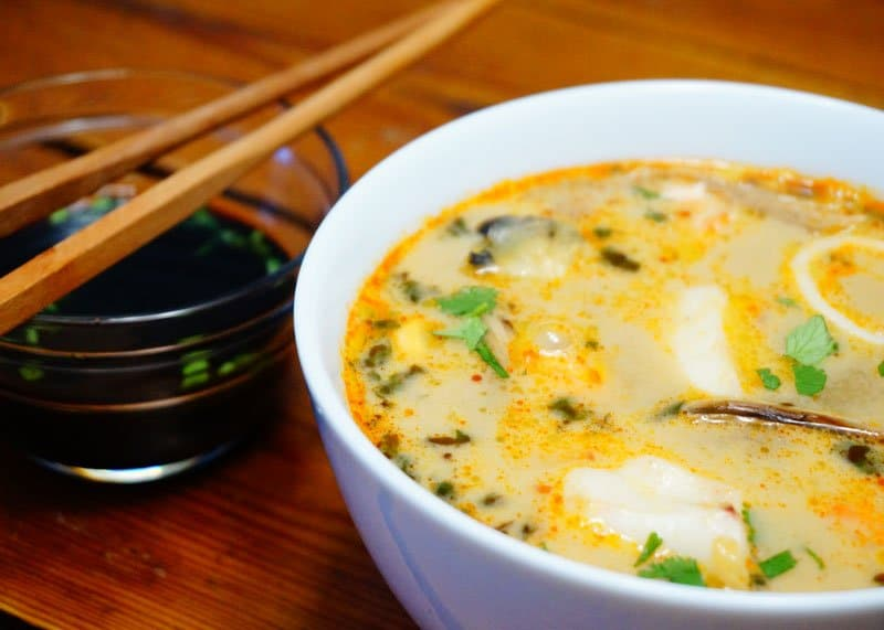 Рецепт супа том ям из рыбы фото