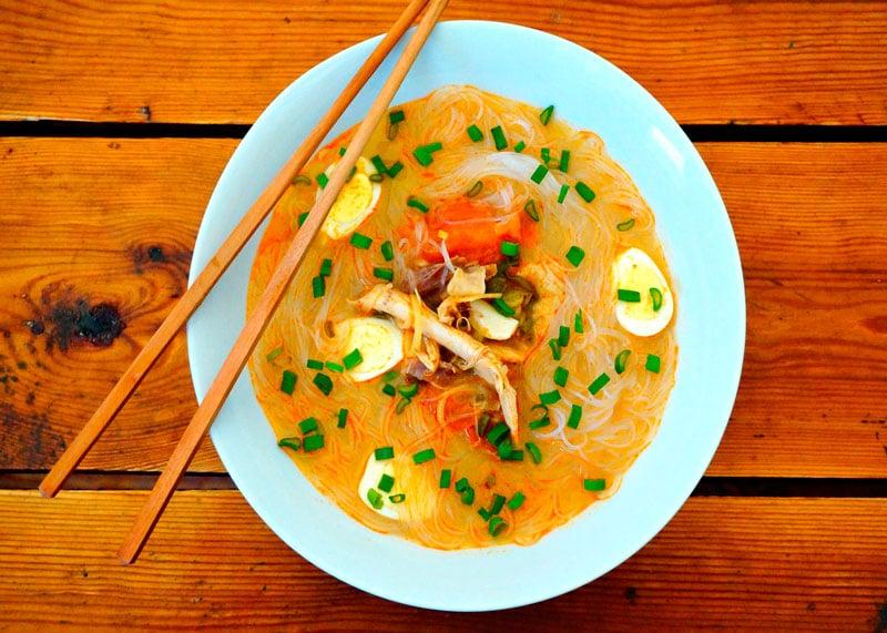 Приготовление супа том ям с курицей фото