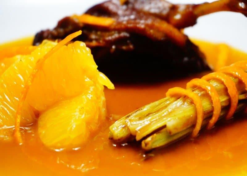 Рецепт утки в апельсиновом соусе фото