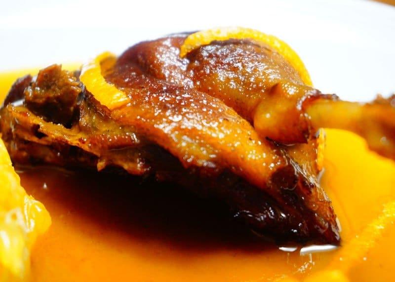 Рецепт приготовления утки в апельсиновом соусе фото