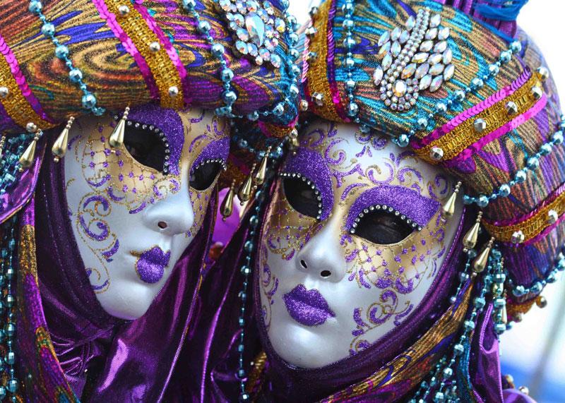 История венецманского карнавала фото