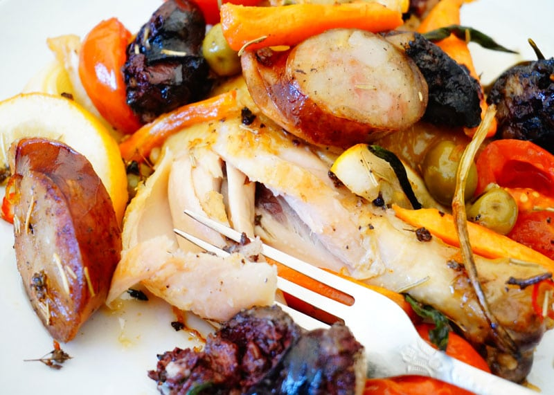 Приготовление цыпленка с овощами фото