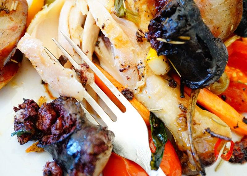 Цыпленок с овощами рецепт приготовления фото