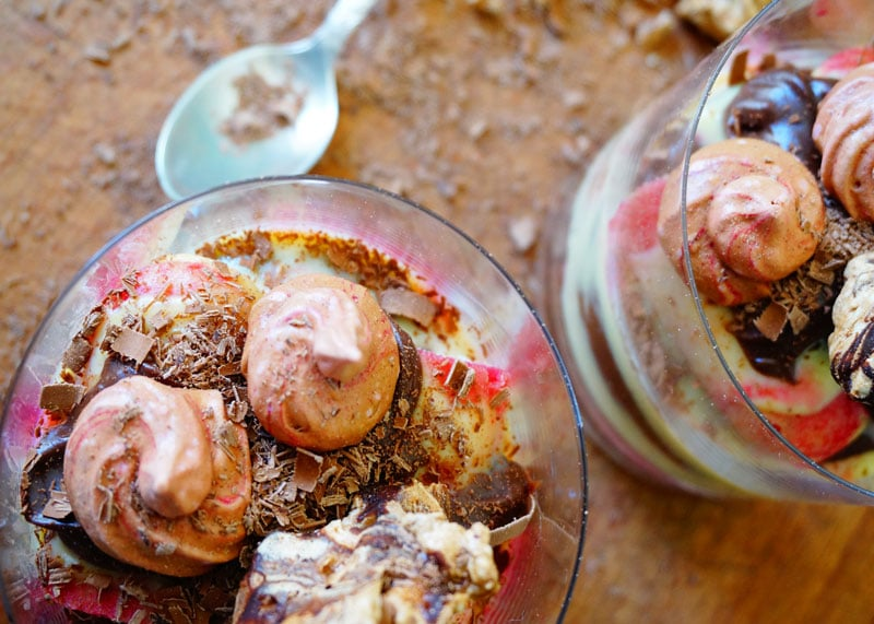 Приготовление десерта из заварного крема фото