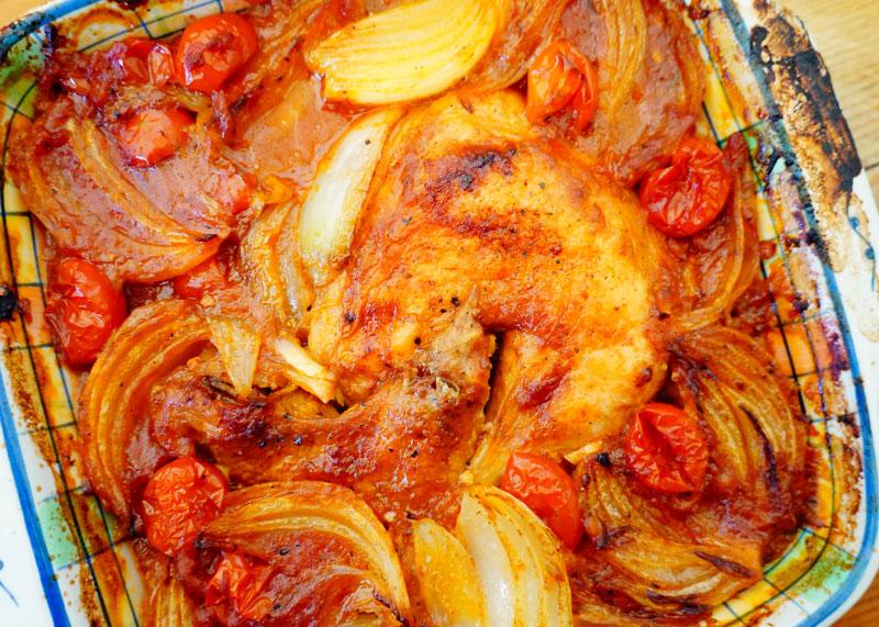 Приготовление курицы в томатном соусе фото