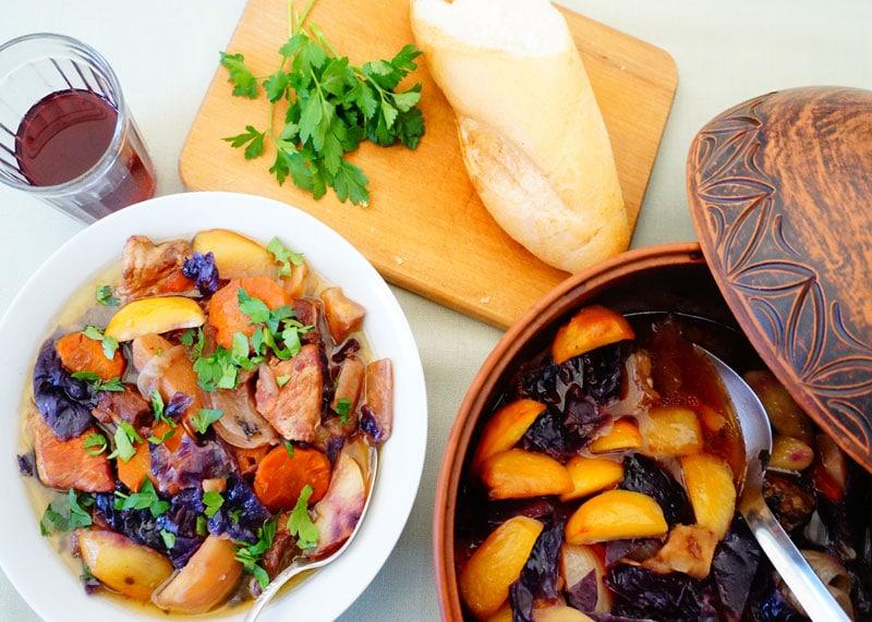 Рецепт мясного супа с овощами фото
