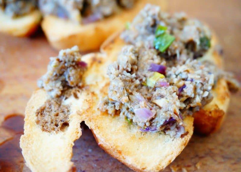 Приготовление паштета из жаренных грибов фото