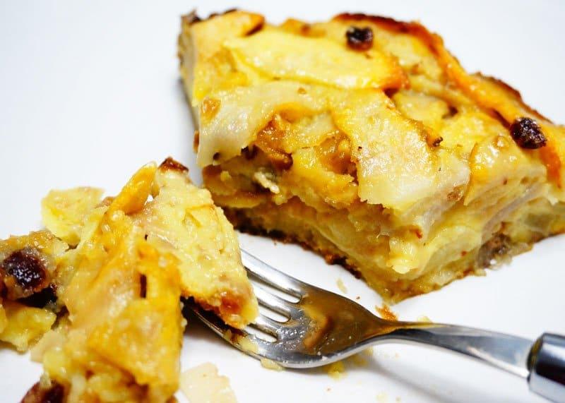 Пирог из яблок и груш рецепт приготовления фото