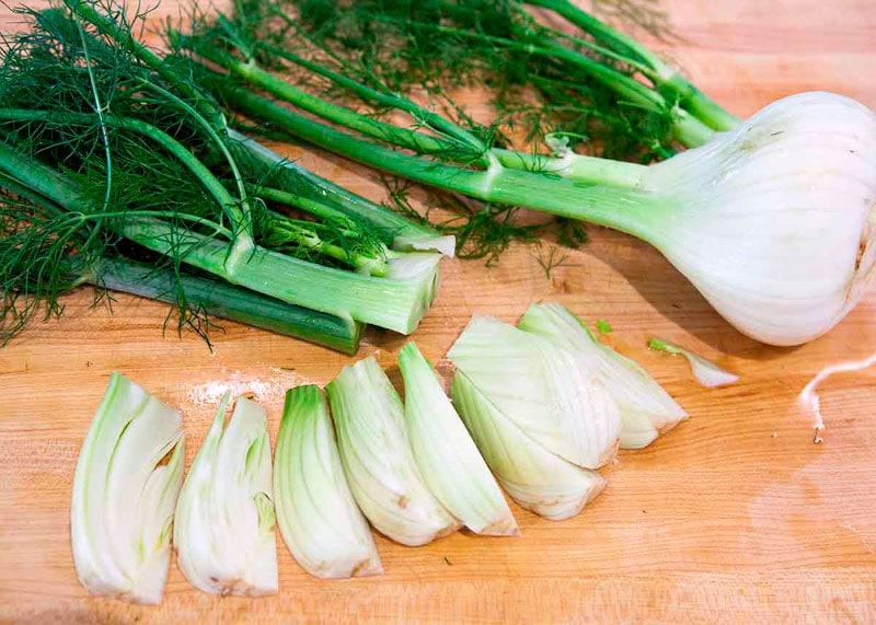 Салат из фенхеля рецепт фото