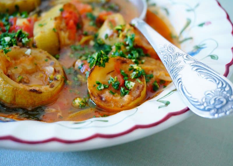 Рецепт супа из кабачков и савойской капусты фото