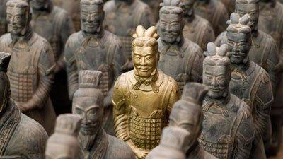 Воины династии Цинь фото