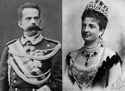 Умберто первый и Маргарита фото