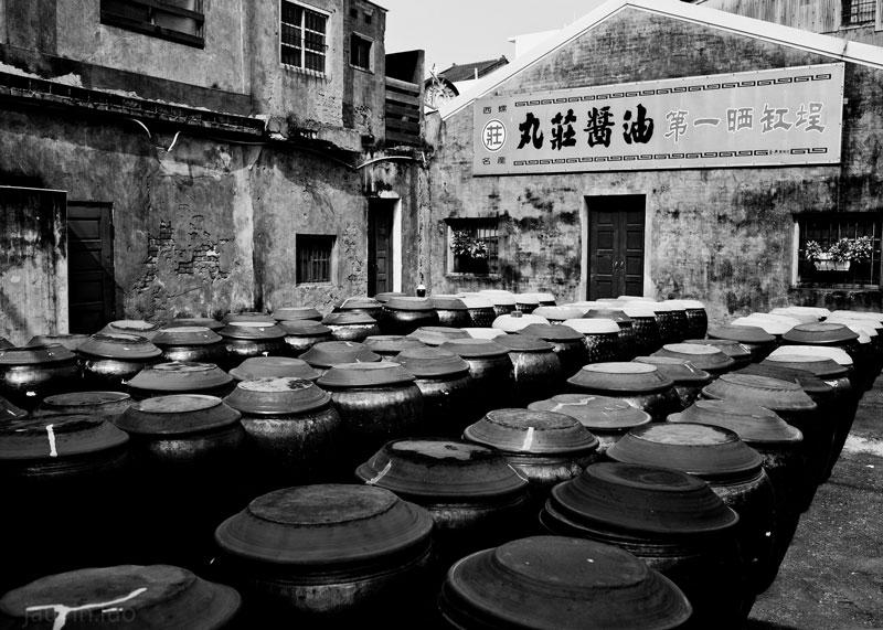 Соевый соус в Китае фото
