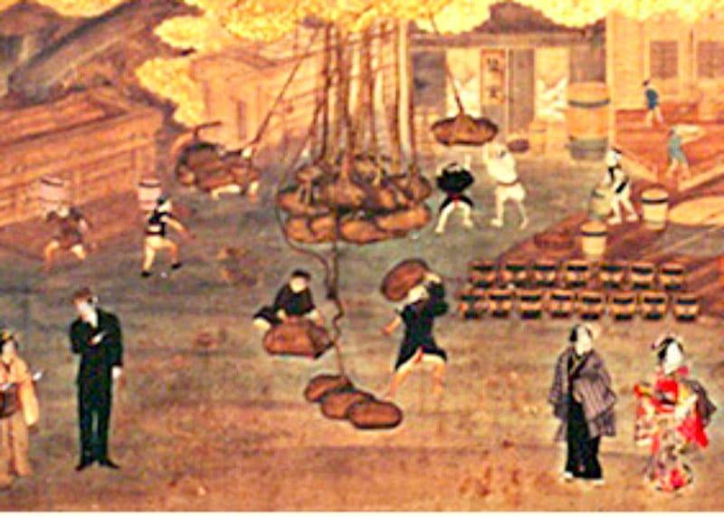 Производство соевого соуса в Китае фото