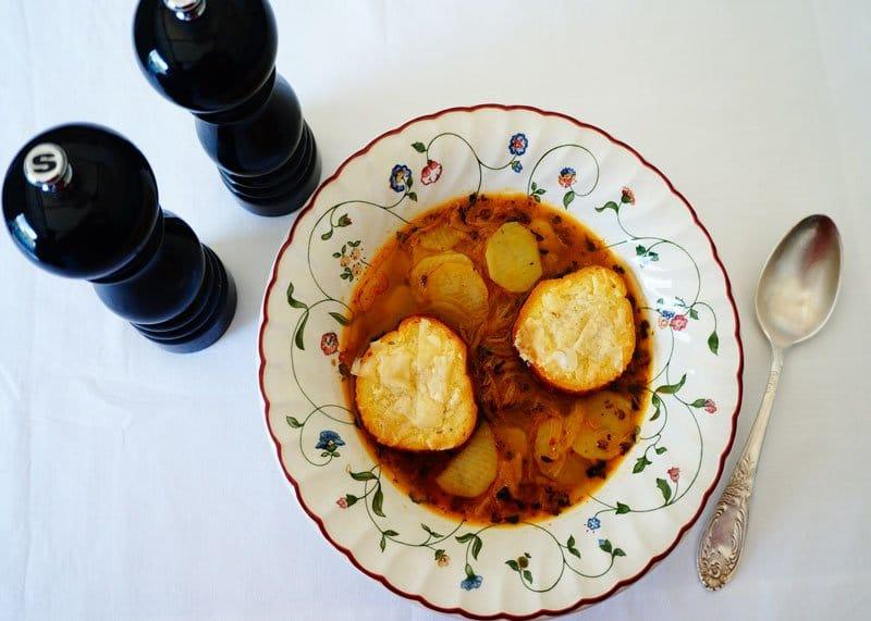Рецепт картофельного супа фото