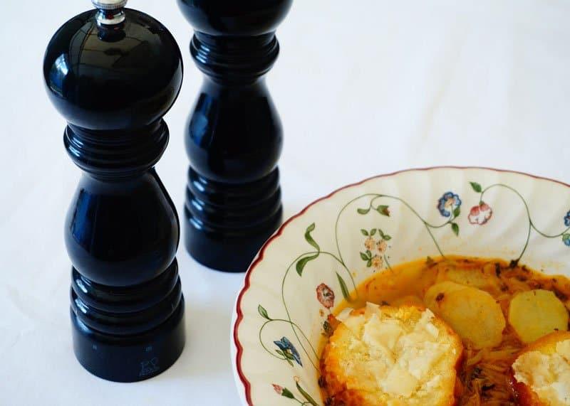 Приготовление картофельного супа фото