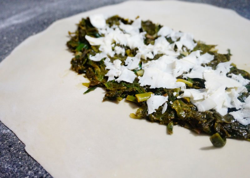 Рецепт лепешек с зеленью фото