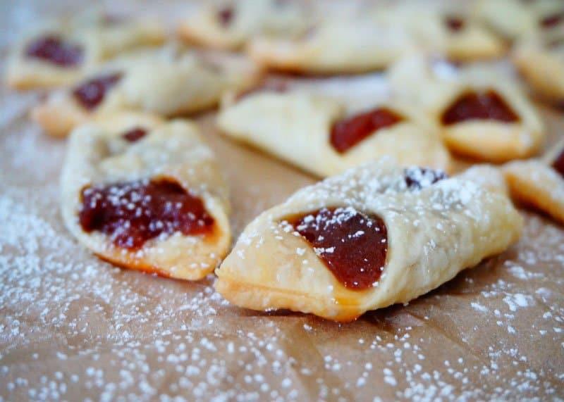 Приготовление печенья с мармеладом фото