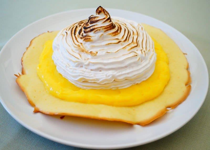 Пирожное с лимонным курдом рецепт фото