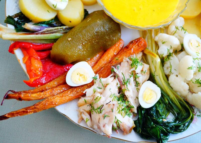 Рецепт приготовления рыбы с овощами фото