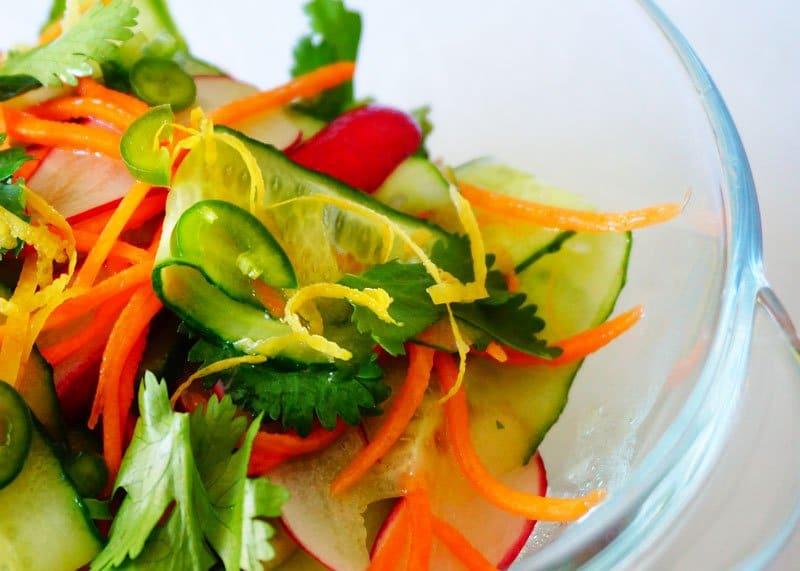 Рецепт салата из огурцов по-танзанийски фото