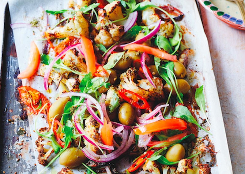 Рецепт салата из цветной капусты фото