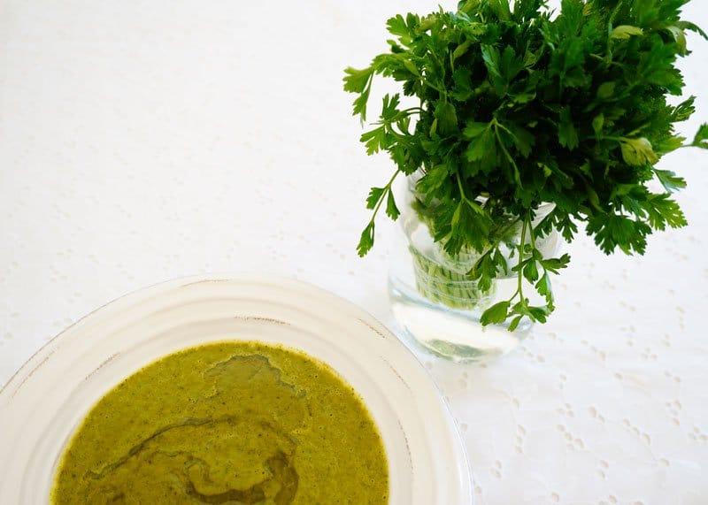 Рецепт приготовления супа из петрушки фото