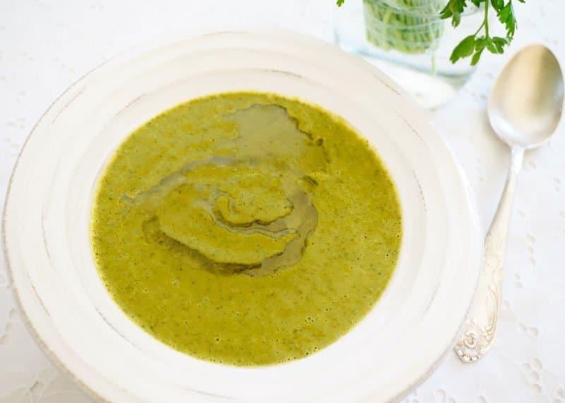 Суп из петрушки приготовление фото