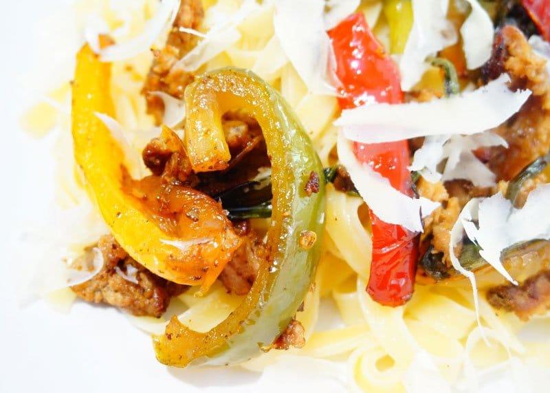 Паста тальятелле с телятиной приготовление фото