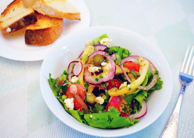 Рецепт греческого салата фото