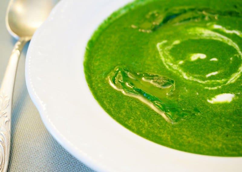 Крем суп из крапивы приготовление фото