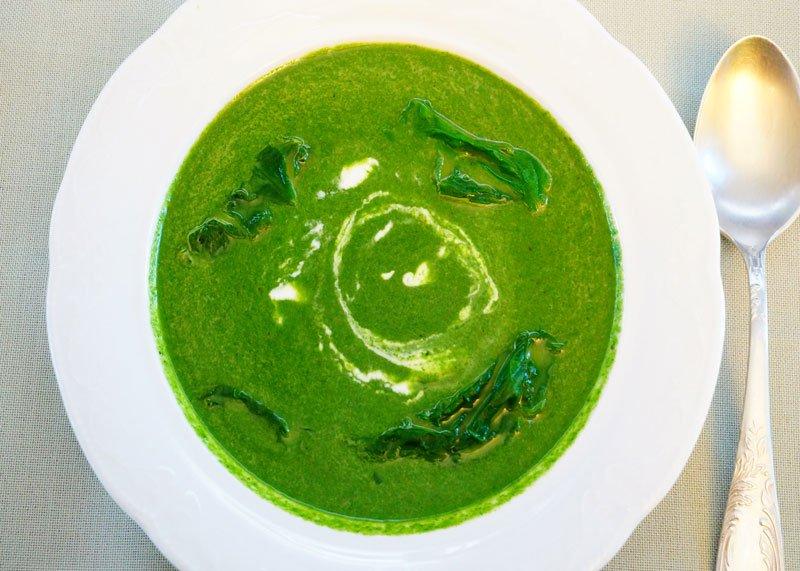 Крем суп из крапивы рецепт фото