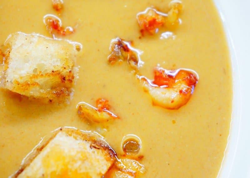 Крем суп из раков приготовление фото