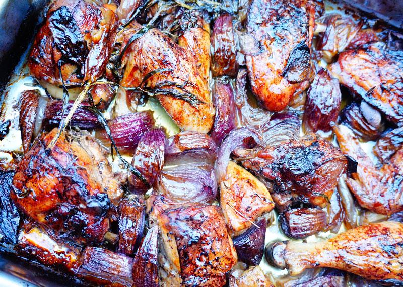 Приготовление курицы с тархуном фото