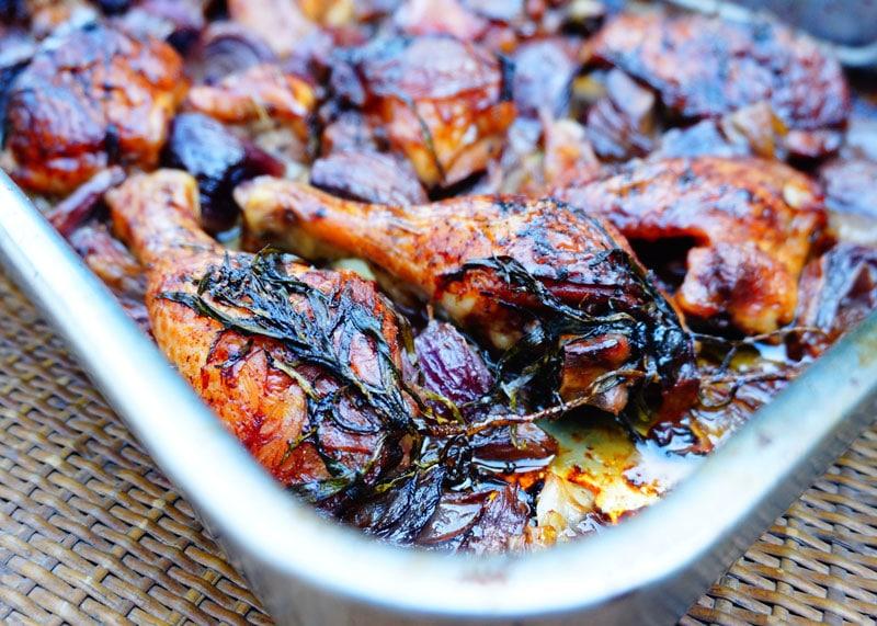 Рецепт курицы с тархуном фото