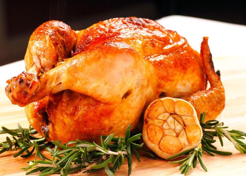 Курица жареная в духовке приготовление фото