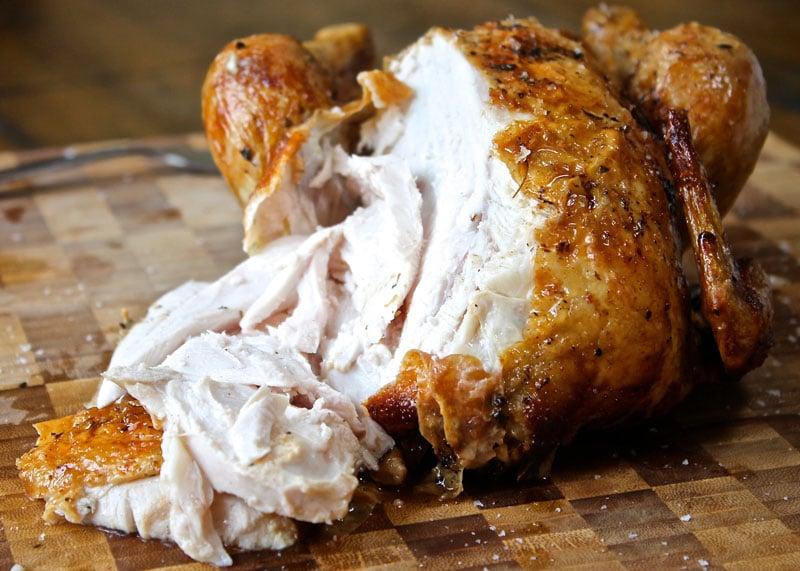 Курица жареная в духовке рецепт фото