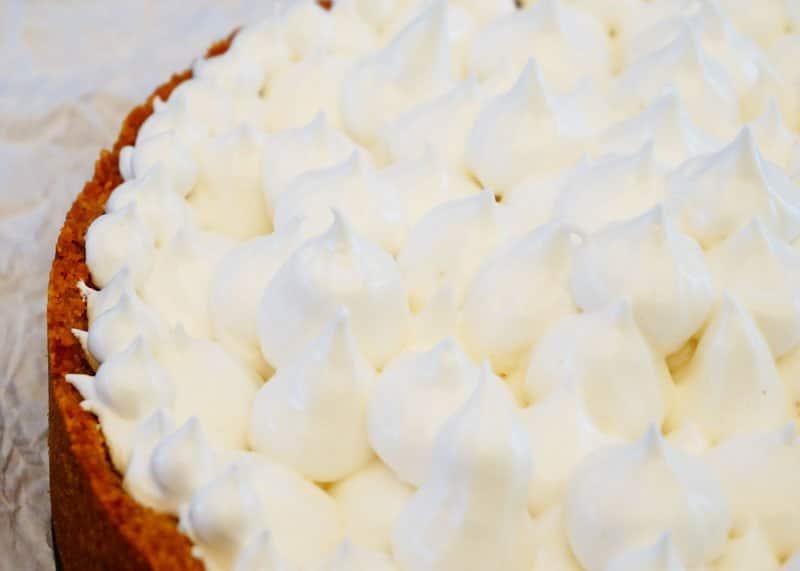 Лимонный пирог с меренгами приготовление фото