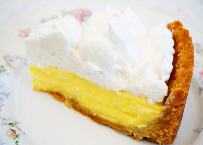 Рецепт лимонного пирога с меренгами фото