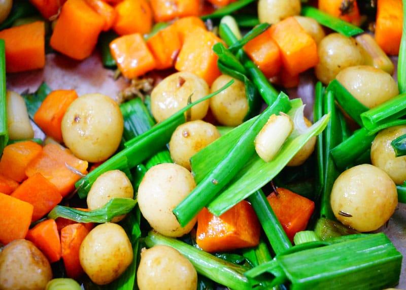 Овощной суп с песто приготовление фото