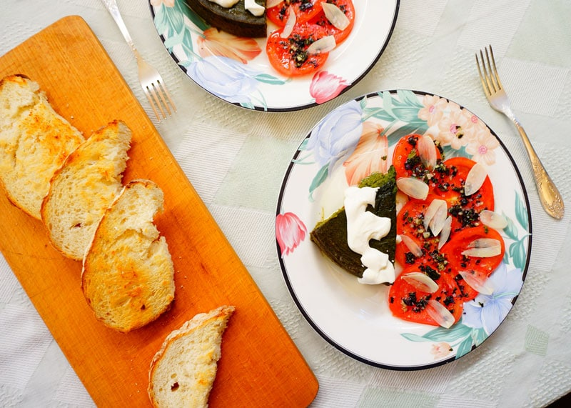 Пирог из шпината и кабачков рецепт фото