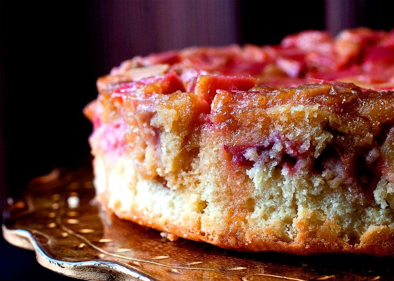 Рецепт пирога с ревенем фото
