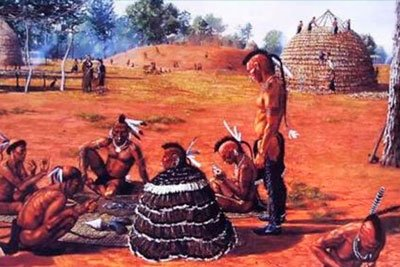 Индейцы племени Джумана фото