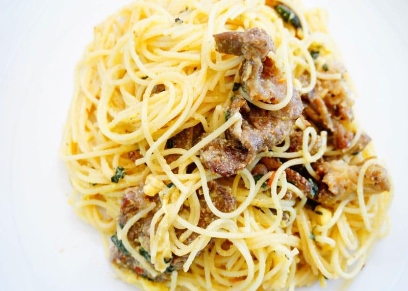 Спагетти карбонара рецепт фото