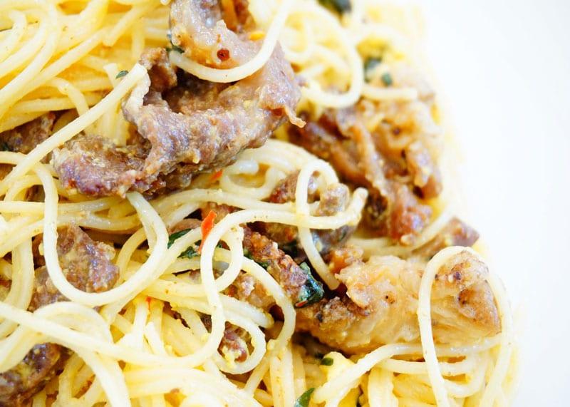 Рецепт спагетти карбонара фото