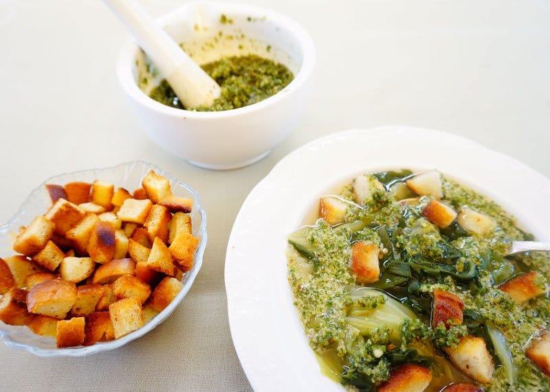 Суп из молодой капусты рецепт фото