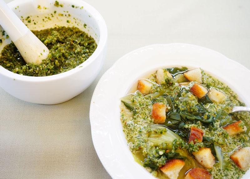 Суп из молодой капусты приготовление фото